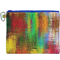 Color Abstract Background Textures Canvas Cosmetic Bag (xxxl)