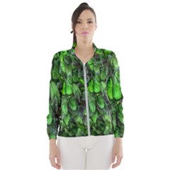 The Leaves Plants Hwalyeob Nature Wind Breaker (women)