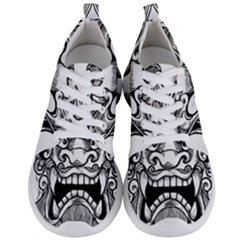 Japanese Onigawara Mask Devil Ghost Face Men s Lightweight Sports Shoes