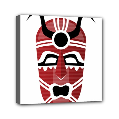 Africa Mask Face Hunter Jungle Devil Canvas Travel Bag