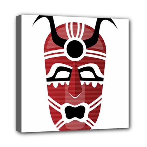 Africa Mask Face Hunter Jungle Devil Multi Function Bag