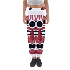 Africa Mask Face Hunter Jungle Devil Women s Jogger Sweatpants