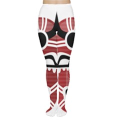 Africa Mask Face Hunter Jungle Devil Women s Tights