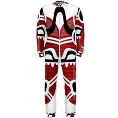 Africa Mask Face Hunter Jungle Devil Onepiece Jumpsuit (men)