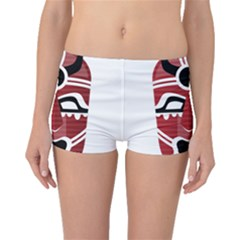 Africa Mask Face Hunter Jungle Devil Boyleg Bikini Bottoms