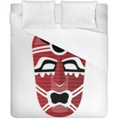 Africa Mask Face Hunter Jungle Devil Duvet Cover (california King Size)
