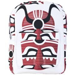 Africa Mask Face Hunter Jungle Devil Full Print Backpack