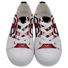 Africa Mask Face Hunter Jungle Devil Kids  Low Top Canvas Sneakers