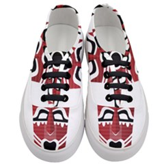 Africa Mask Face Hunter Jungle Devil Women s Classic Low Top Sneakers