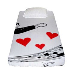 Manloveswoman Fitted Sheet (single Size)