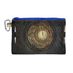 Steampunk 1636156 1920 Canvas Cosmetic Bag (large)