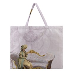 Background 1659612 1920 Zipper Large Tote Bag