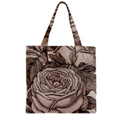 Flowers 1776630 1920 Zipper Grocery Tote Bag