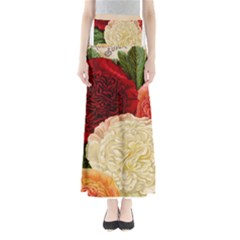 Flowers 1776584 1920 Full Length Maxi Skirt