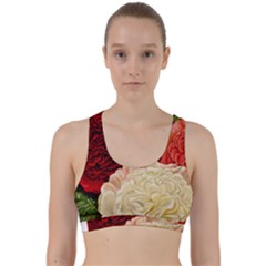 Flowers 1776584 1920 Back Weave Sports Bra