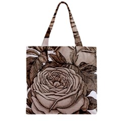 Flowers 1776626 1920 Zipper Grocery Tote Bag