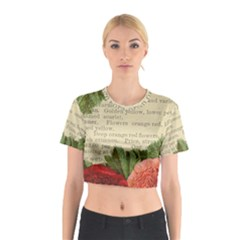 Flowers 1776422 1920 Cotton Crop Top