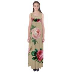 Flower 1770189 1920 Empire Waist Maxi Dress