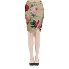 Flower 1770189 1920 Midi Wrap Pencil Skirt