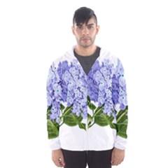 Flower 1775377 1280 Hooded Wind Breaker (men)