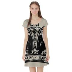 Crown 1515871 1280 Short Sleeve Skater Dress
