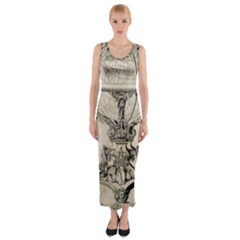 Globe 1618193 1280 Fitted Maxi Dress