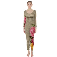 Flower 1646069 1920 Long Sleeve Catsuit