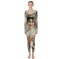 Vintage 1501577 1280 Long Sleeve Catsuit