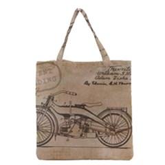 Motorcycle 1515873 1280 Grocery Tote Bag