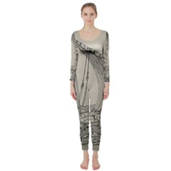 Ship 1515860 1280 Long Sleeve Catsuit