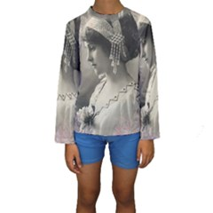 Vintage 1501540 1920 Kids  Long Sleeve Swimwear