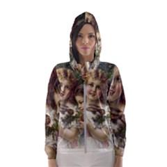 Vintage 1501558 1280 Hooded Wind Breaker (women)
