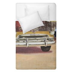 Retro Cars Duvet Cover Double Side (single Size)
