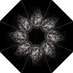 Jesuschrist Face Dark Poster Golf Umbrellas