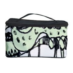 Monster Rat Pencil Drawing Illustration Cosmetic Storage Case