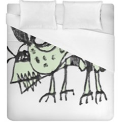 Monster Rat Pencil Drawing Illustration Duvet Cover (king Size)
