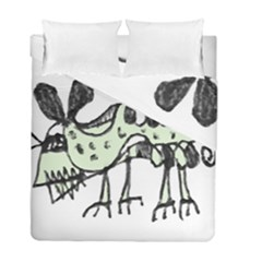 Monster Rat Pencil Drawing Illustration Duvet Cover Double Side (full/ Double Size)