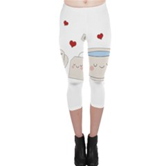 Cute Tea Capri Leggings