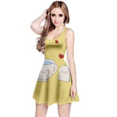 Cute Tea Reversible Sleeveless Dress