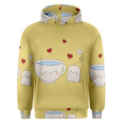 Cute Tea Men s Overhead Hoodie