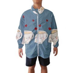 Cute Tea Wind Breaker (kids)