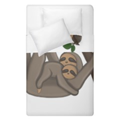 Cute Sloth Duvet Cover Double Side (single Size)