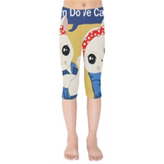 Feminist Cat Kids  Capri Leggings