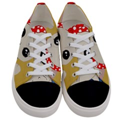 Feminist Cat Women s Low Top Canvas Sneakers