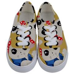 Feminist Cat Kids  Classic Low Top Sneakers