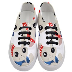Feminist Cat Women s Classic Low Top Sneakers