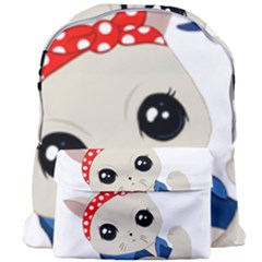 Feminist Cat Giant Full Print Backpack
