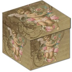 Cupid   Vintage Storage Stool 12