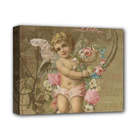 Cupid   Vintage Deluxe Canvas 14  X 11