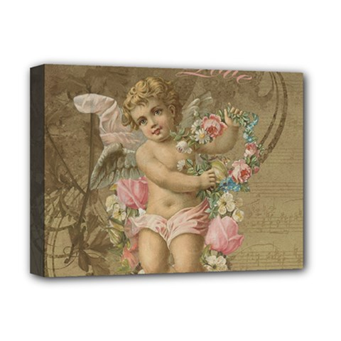 Cupid   Vintage Deluxe Canvas 16  X 12